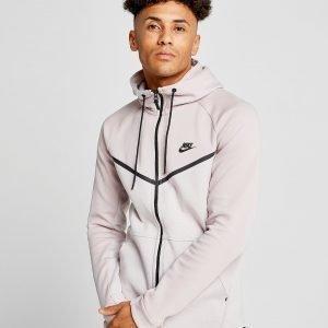 Nike Tech Fleece Windrunner Full Zip Hoodie Vaaleanpunainen