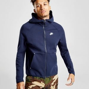 Nike Tech Full Zip Huppari Sininen