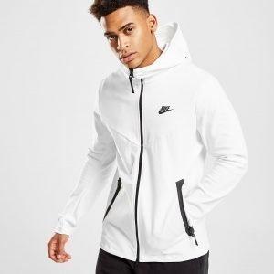 Nike Tech Ponte Full Zip Huppari Valkoinen