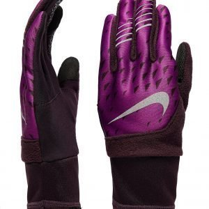 Nike Therma-Fit Running Gloves Vaaleanpunainen