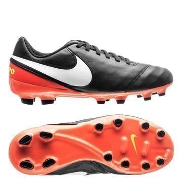 Nike Tiempo Legend 6 FG Dark Lightning Pack Musta/Valkoinen/Oranssi Lapset
