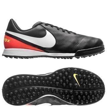Nike TiempoX Legend 6 TF Dark Lightning Pack Musta/Valkoinen/Oranssi Lapset