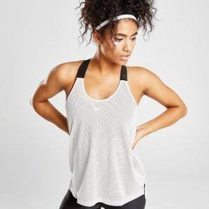 Nike Training Elastika Tank Top Valkoinen