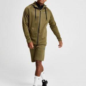 Nike Training Full Zip Huppari Khaki / Black