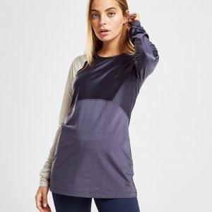 Nike Training Hypercool Long Sleeve T-Shirt Violetti