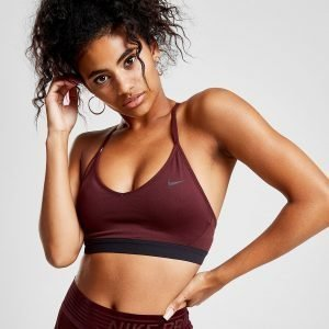 Nike Training Indy Bra Burgundy / Black