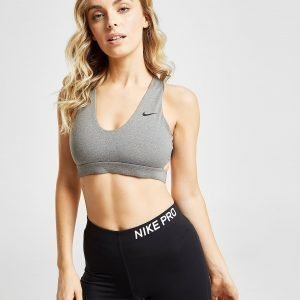 Nike Training Indy Logo Sports Bra Harmaa