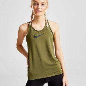 Nike Training Pro Tank Top Khaki / Black