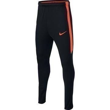 Nike Treenihousut Dry Squad Musta/Oranssi Lapset