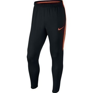 Nike Treenihousut Dry Squad Musta/Oranssi
