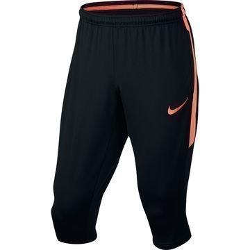 Nike Treenihousut Squad 3/4 Musta/Oranssi