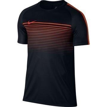 Nike Treenipaita Dry Top Squad Musta/Oranssi Lapset