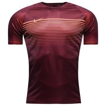 Nike Treenipaita Dry Top Squad Viininpunainen/Oranssi Lapset
