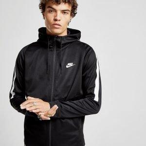 Nike Tribute Full Zip Poly Hoodie Musta