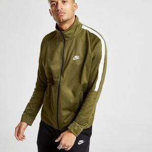 Nike Tribute Full Zip Track Top Olive / Olive