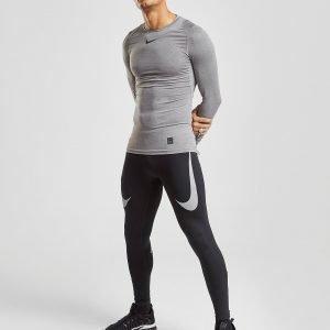 Nike Twin Swoosh Leggings Musta