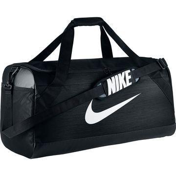 Nike Urheilulaukku Brasilia Duffel L Musta/Valkoinen