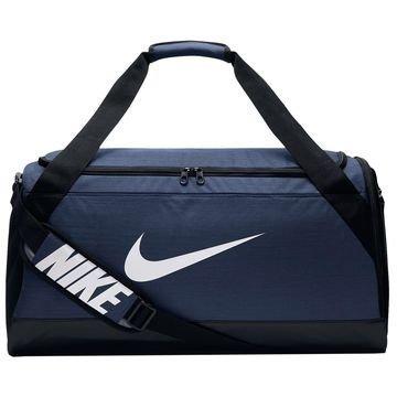 Nike Urheilulaukku Brasilia Duffel M Navy/Musta/Valkoinen
