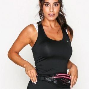 Nike Waistpack Small Treenilaukku Musta / Vaaleanpunainen