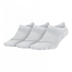 Nike Women's Lightweight Treenisukat Valkoinen 3-Pakkaus