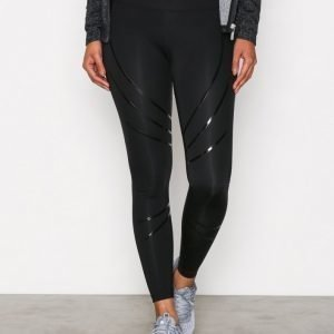 Nly Sport Blk Compression Tights Kompressiotrikoot Musta