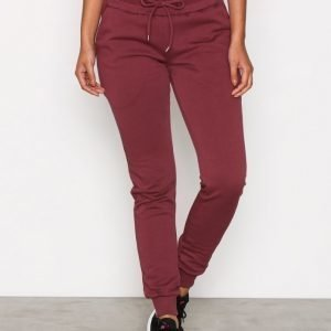 Nly Sport Workout Jogger Treenihousut Burgundy