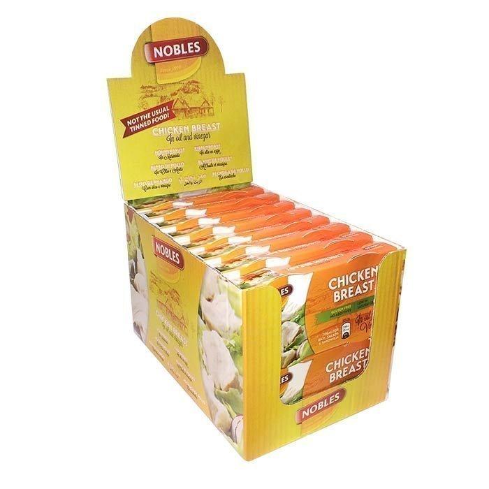 Nobles 16 x Chicken Breast 180 g (116 g kyckling per förpackning)