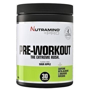 Nutramino +Pro Pre-Workout Powder Kirpeä Omena 315g