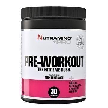 Nutramino +Pro Pre-Workout Powder Pink Limonaadi 315g