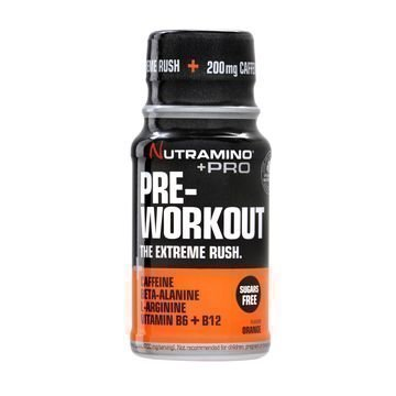 Nutramino +Pro Pre-Workout Shotti Appelsiini 60ml