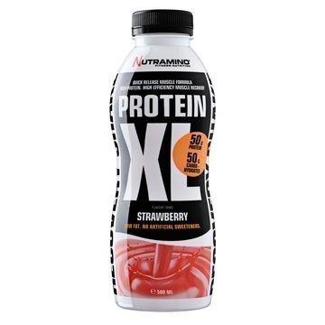 Nutramino Protein XL Shake Jordbær 500 ML