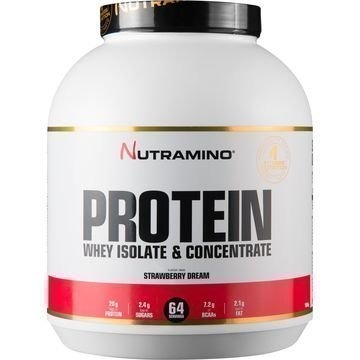 Nutramino Whey Isolate Protein Strawberry Dream 1