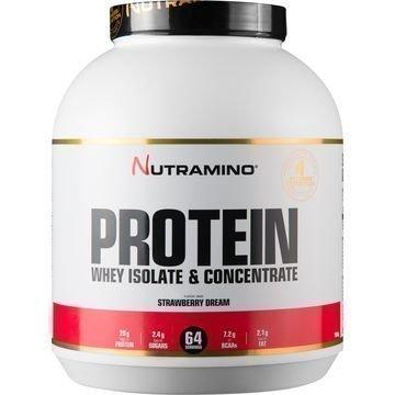Nutramino Whey Isolate Protein Strawberry Dream 1