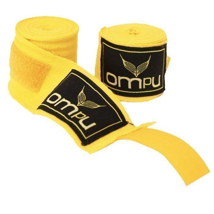 OMPU Handwraps stretch/lycra 4m keltainen