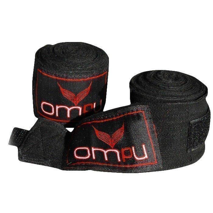 OMPU Handwraps stretch/lycra 4m musta