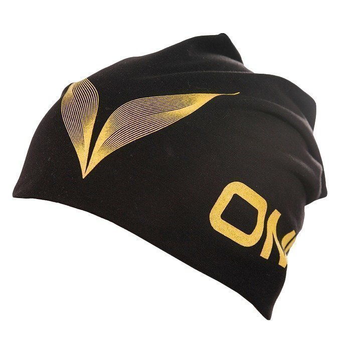 OMPU Jersey Beanie black/yellow