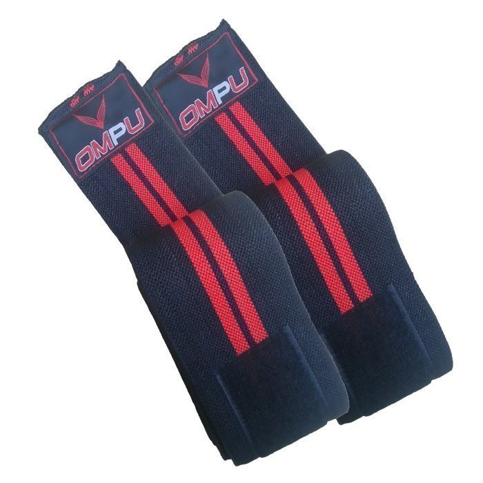 OMPU Kneewrap Elite black/red