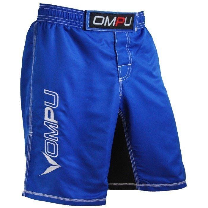 OMPU MMA Shortsit siniset/valkoiset L