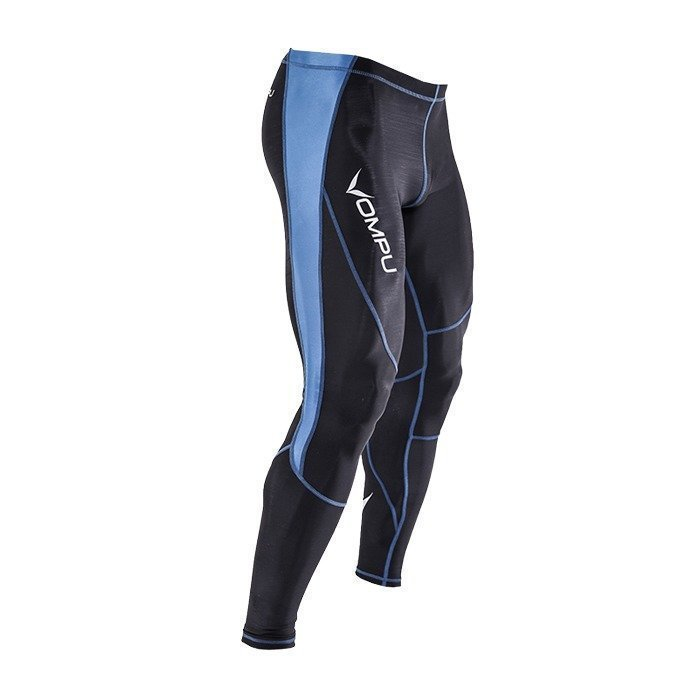 OMPU Multisport Compression Tights steel blue L