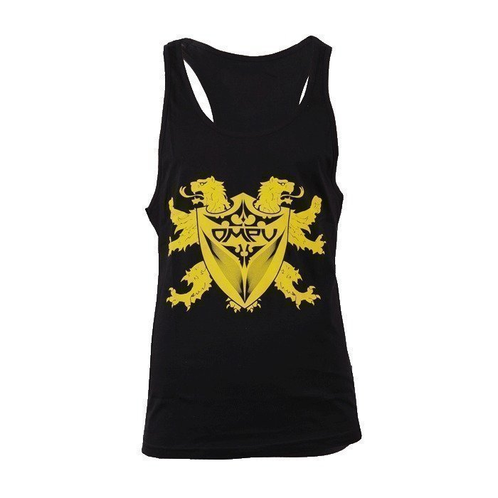 OMPU Tank Top Lion black M