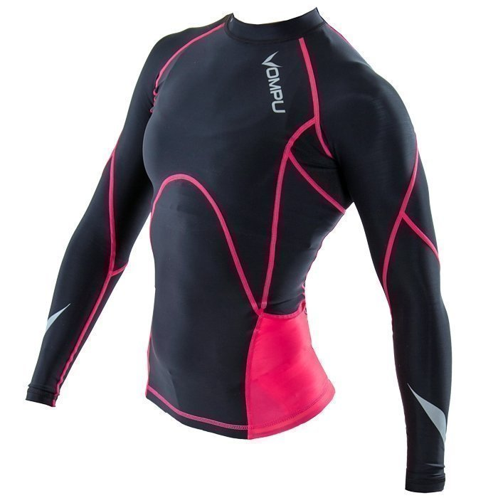 OMPU Women's OMPU Multisport Compression Top black/pin