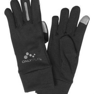 ONLY PLAY Käsineet Running Glove Musta