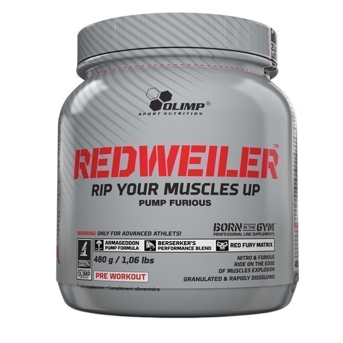Olimp Redweiler 480 g Pear Punch Black Series Ltd