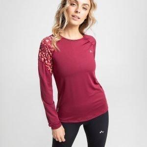 Only Play Leopard Long Sleeve T-Shirt Punainen