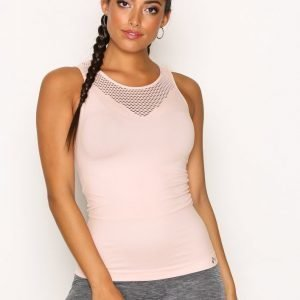 Only Play Onptama Seamless Sl Top Treenitoppi Tight Fit Vaalea Pinkki