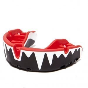 Opro Platinum Adult Mouthguard Musta