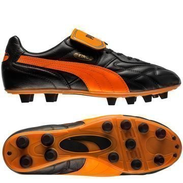 PUMA King Top Made in Italy Musta/Oranssi