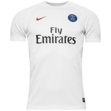 Paris Saint Germain Harjoittelu T-Paita Dry Top Valkoinen/Punainen Lapset