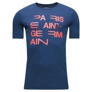 Paris Saint Germain T-paita Squad Navy