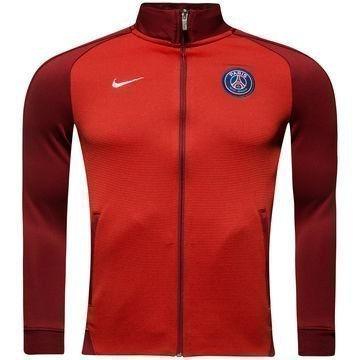 Paris Saint Germain Track Top Verryttelytakki Authentic N98 Punainen Naiset